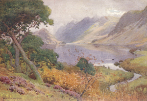 A Heaton Cooper - Crummock Water from Scale Hill
