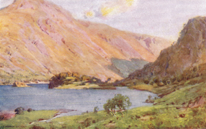 A Heaton Cooper - Thirlmere and Helvellyn