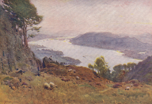 A. Heaton Cooper - Windermere from Wansfell