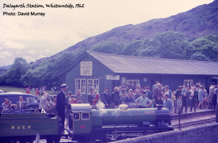 Ravenglass Railway at Dalegarth