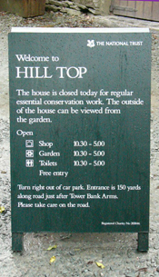 Hill Top closed