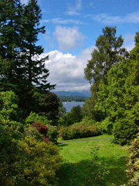 View of Windermere from Brockhole